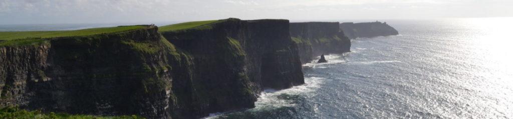 le scogliere di Moher, in Irlanda
