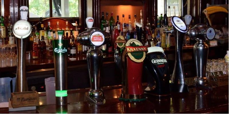 Pub irlandese, birra d'Irlanda