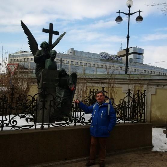 San Pietroburgo - Cimitero di Tichvim, tomba di Čajkovskij
