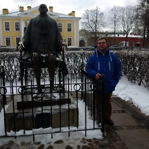 San Pietroburgo - Fortezza Pietro e Paolo, Monumento a Pietro il Grande