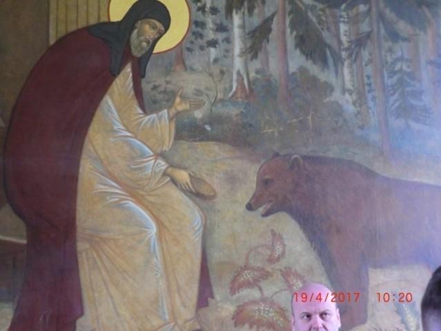 Sergiev Posad - Monastero della Trinità di San Sergio, Portone Santo, scene della vita di San Sergio