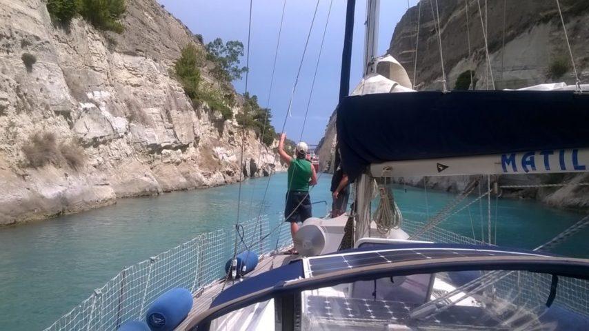 Matilde e il canale di Corinto