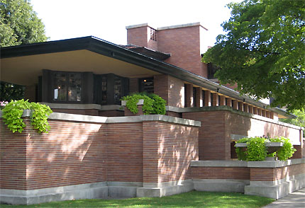 Le case di Wright - Robie House