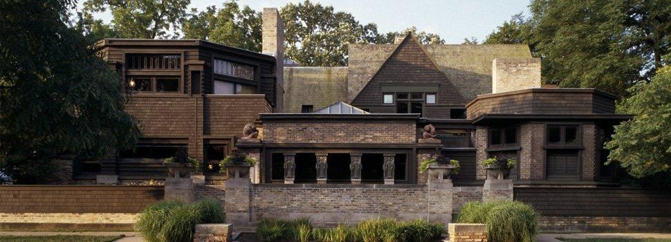 Le case di Wright - casa e studio Wright
