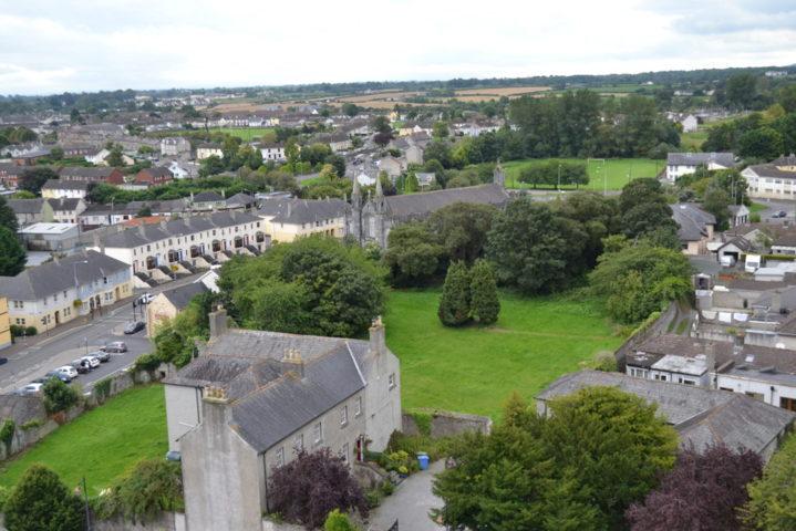 Vista dalla torre di St. Canice