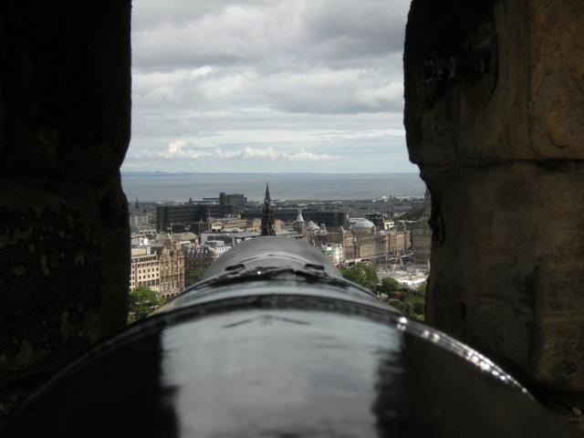La Scozia con i bambini - il castello di edimburgo