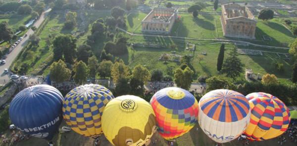 Paestum - Festival internazionale delle mongolfiere