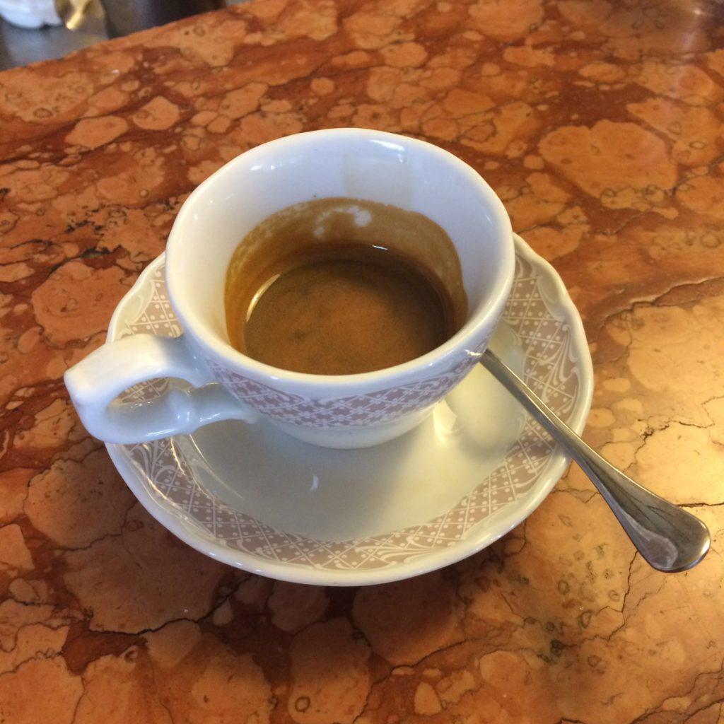 Viaggio in campania - il caffè