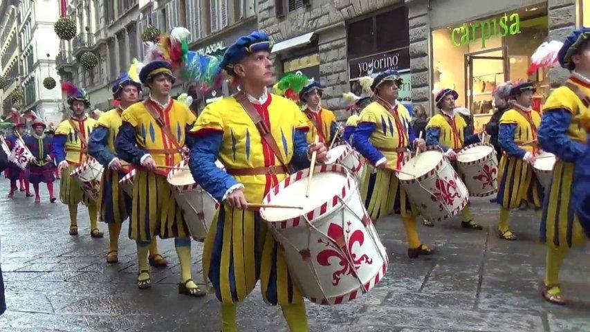 Cavalcata dei Magi a Firenze - il corteo
