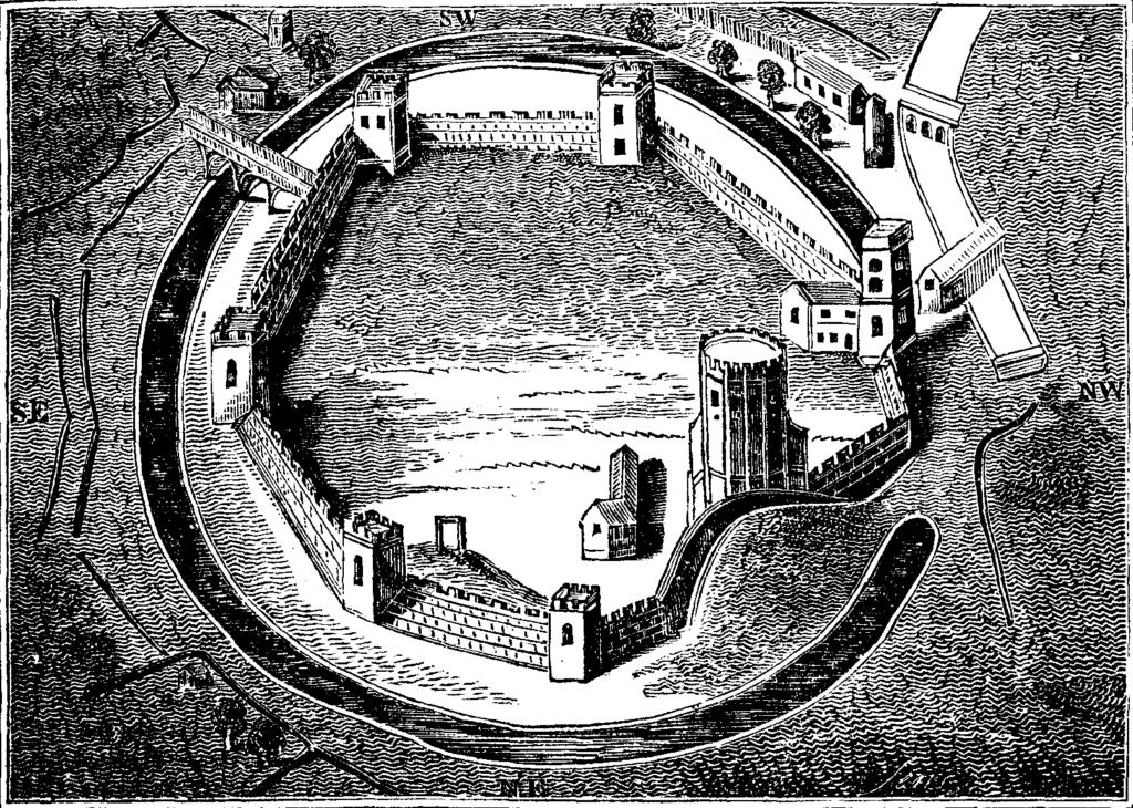 La storia di Oxford - Il castello di Oxford