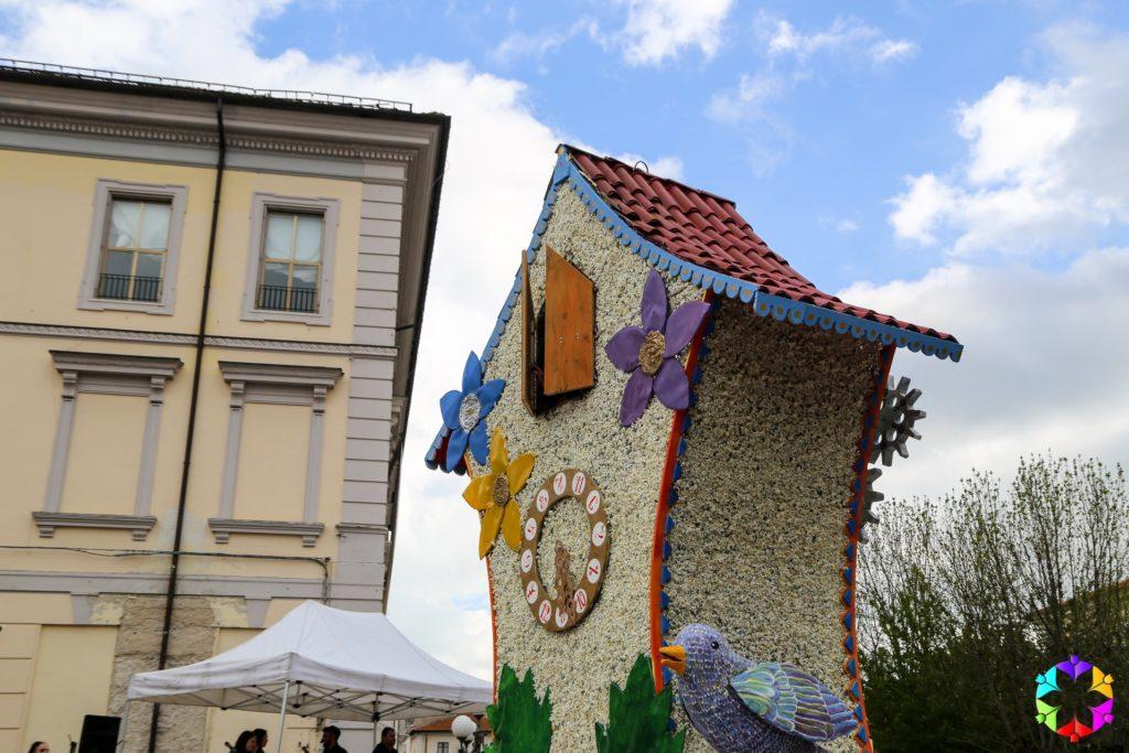 Festa del Narciso - Rocca di Mezzo (AQ) - l'orologio 3