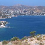 Leros, Agia Marina dal castello